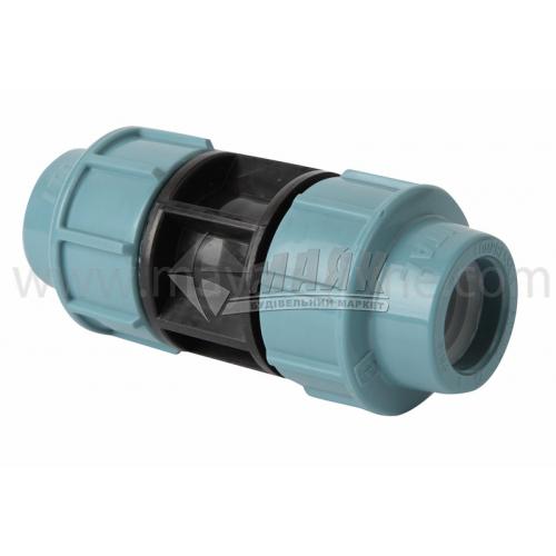 Муфта для водопровідної труби VS Plast 25 мм