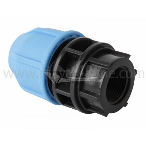 """Муфта для водопровідної труби VS Plast 25 мм 3/4"""" внутрішня різьба"""