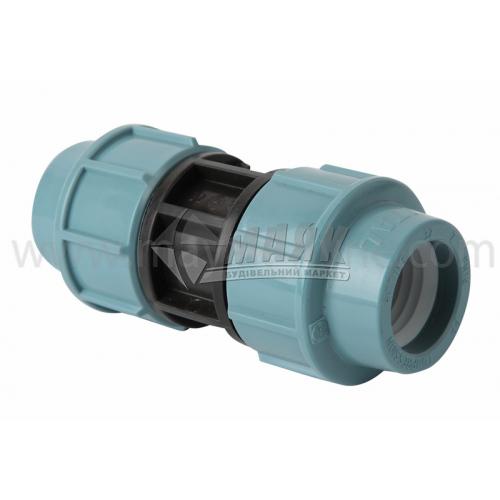 Муфта для водопровідної труби VS Plast 32 мм