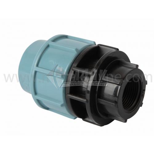 """Муфта для водопровідної труби 32 мм 3/4"""" внутрішня різьба"""