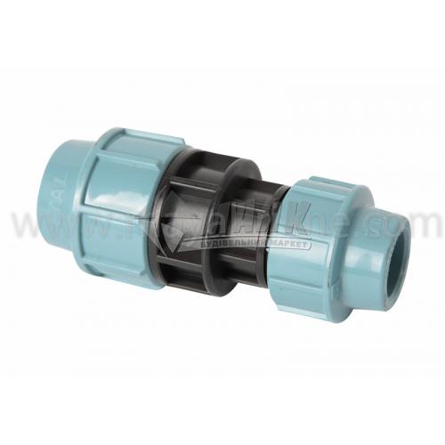 Муфта для водопровідної труби перехідна VS Plast 32×25 мм