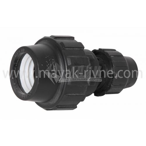 Муфта для водопровідної труби перехідна VS Plast 40×25 мм