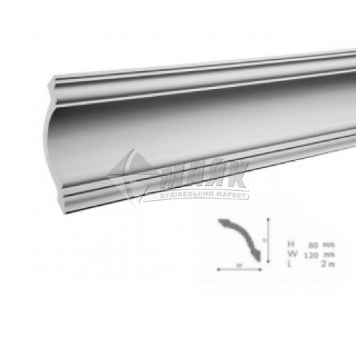 Плінтус стельовий декоративний NMC GV Nomastyl 120×80×2000 мм