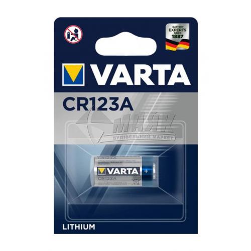 Батарейка VARTA CR123 Lithium літієва 1 шт