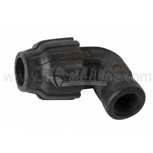 """Коліно для водопровідної труби VS Plast 20 мм 1/2"""" внутрішня різьба"""