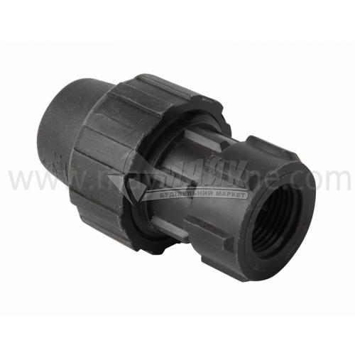 """Муфта для водопровідної труби VS Plast 20 мм 1/2"""" внутрішня різьба"""