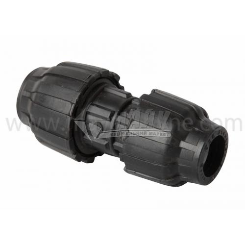 Муфта для водопровідної труби перехідна VS Plast 25×20 мм
