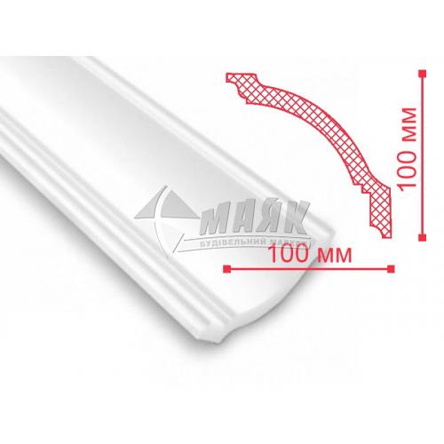 Плінтус стельовий декоративний NMC GP Nomastyl 100×100×2000 мм