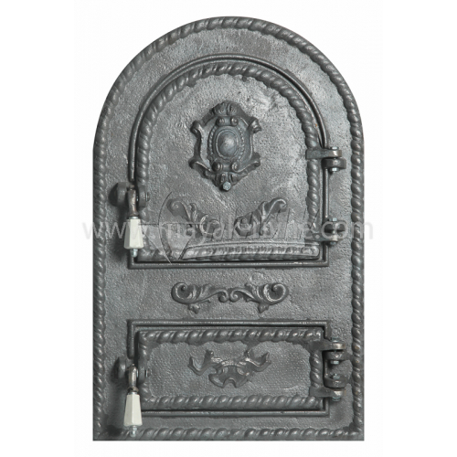 Дверцята спарені декоративні Арка Герб 340×540 мм 16,5 кг