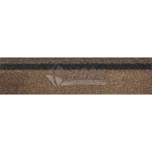 Коник-звіс ТЕХНОНІКОЛЬ для бітумної черепиці 250×1000 мм 3 кв.м бронзовий
