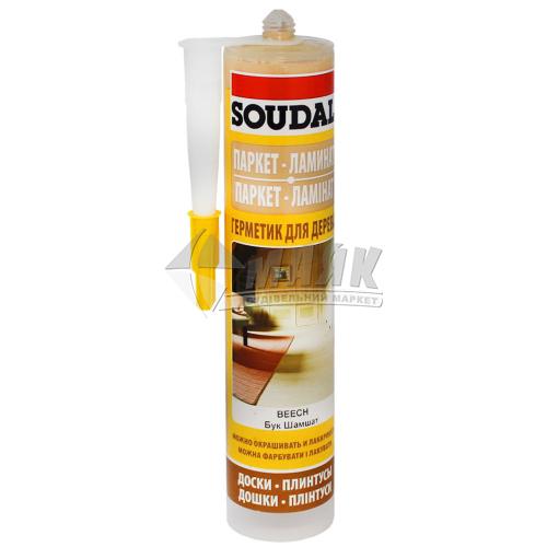 Герметик для дерева Soudal 300 мл бук