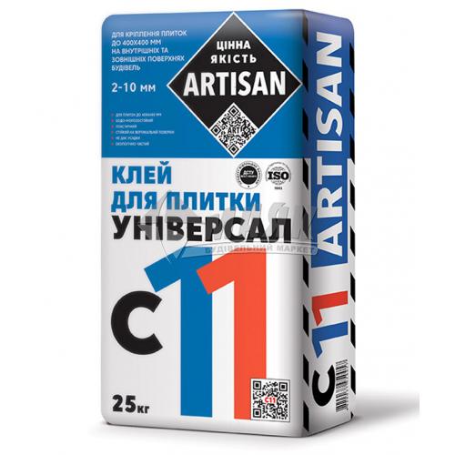Клей для облицювальної плитки Artisan C-11 Універсальна 25 кг