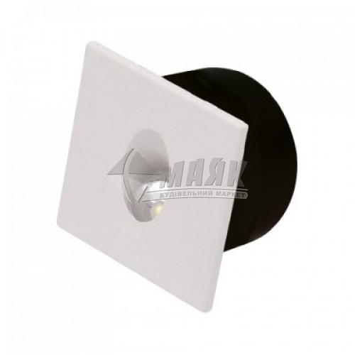 Світильник світлодіодний квадратний накладний HOROZ ZUMRUT 3Вт 4000°К білий