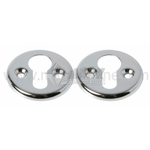 Накладка на циліндр кругла Apecs DP-C-06-CR хром