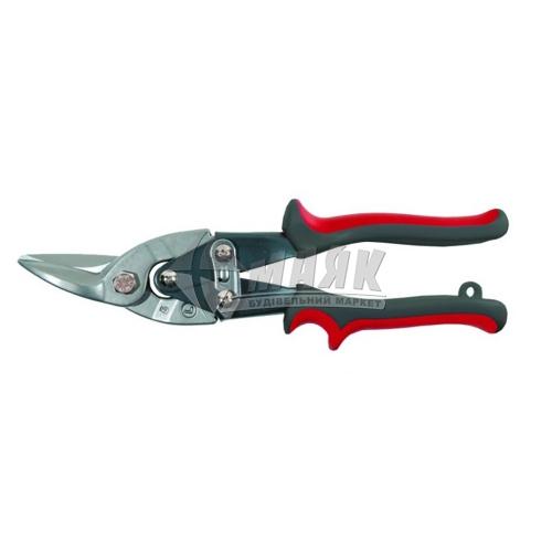 Ножиці по металу SIGMA 250 мм ліве різання Cr-V