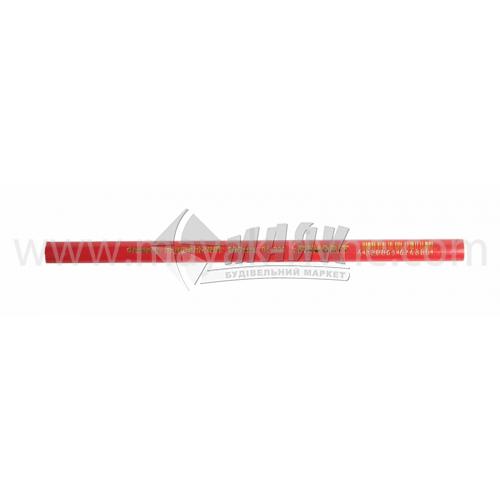 Олівець столярний 180 мм 1 шт чорний