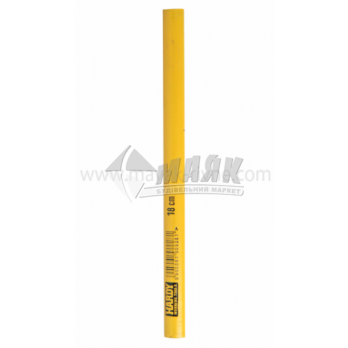 Олівець столярний HARDY 180 мм