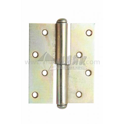 Петля дверна врізна ПВ 85 мм ліва оцинкована