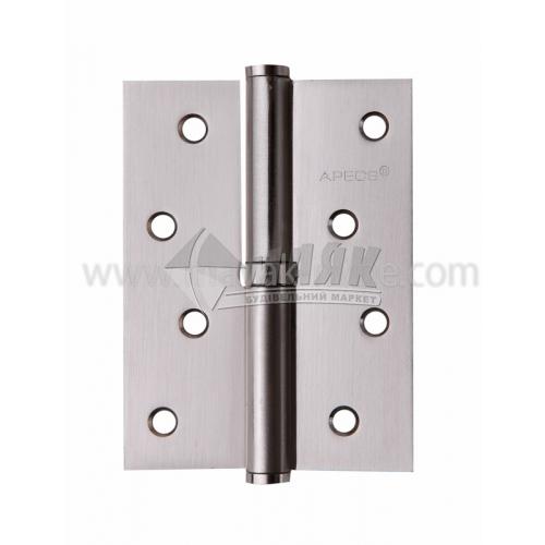Петля дверна врізна Apecs 100×75-В-S-R права сатин