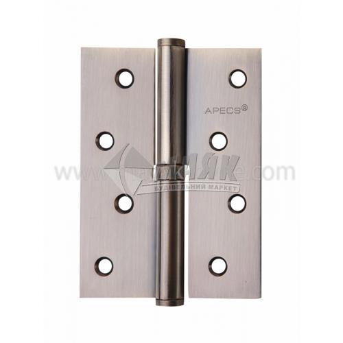 Петля дверна врізна Apecs 100×75-В-АВ-R права бронза