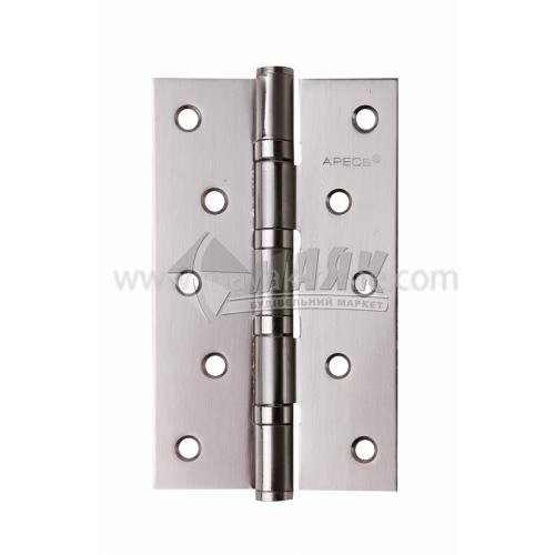 Петля дверна врізна Apecs 125×75-В4-S універсальна сатин