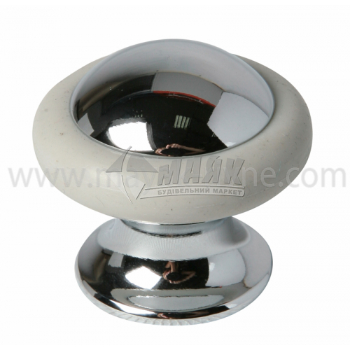 Стопор дверний циліндричний Apecs DS-0011-CR підлоговий хром