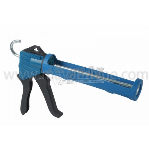 Пістолет для герметика напівзакритий пластиковий