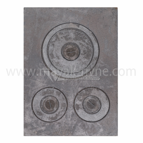 Плита трьохконфорна 533×380 мм 11,1 кг