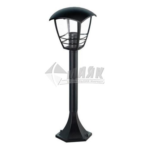 Світильник вуличний HOROZ NAR-4 60Вт Е27 IP44 стовпчик чорний