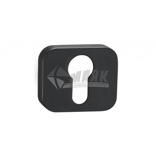 Накладка на циліндр квадратна MVM E16 Black чорний