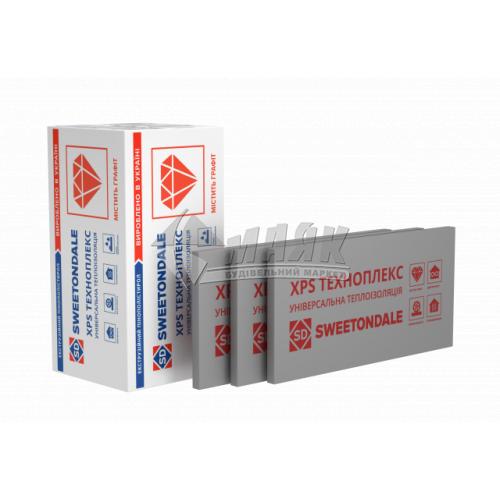 Пінопласт екструдований Sweetondale ТЕХНОПЛЕКС FAS/2 С/2 40×550×1100 мм