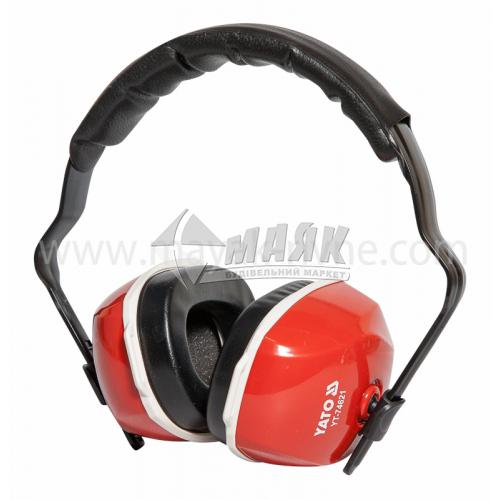 Навушники захисні шумознижуючі YATO 27 дБ
