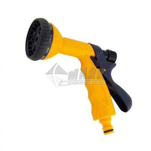 Пістолет-розпилювач пластиковий Verano 10 режимів регульований