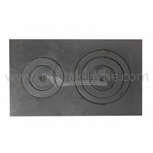 Плита двохконфорна ПД-4 з 750×450 мм 24,0 кг