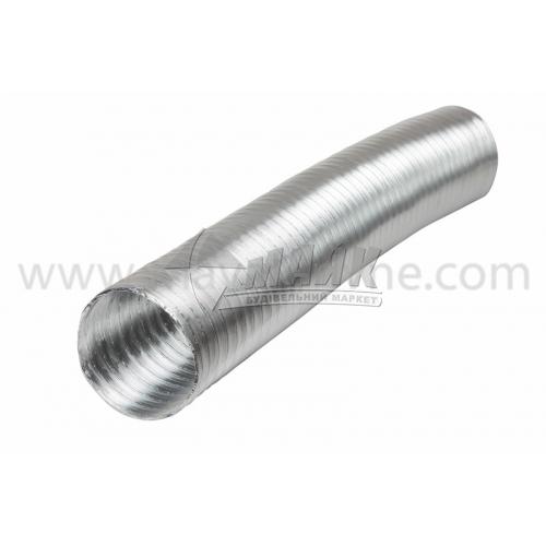 Повітровід гнучкий алюмінієвий VENTS Алювент N 125 мм 3 м