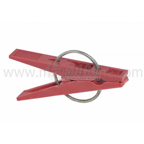 Прищіпка для білизни з металевим кільцем в асортименті