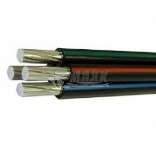 Провід самонесучий алюмінієвий багатожильний СІП-4 4×16