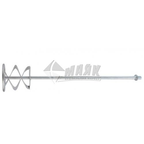Міксер для фарб і штукатурки VOREL Турбо 115× 580 мм зовнішня різьба М14
