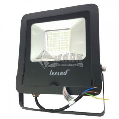 Прожектор світлодіодний Lezard 50Вт 6500°К чорний