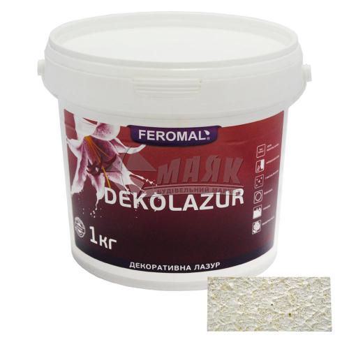 Лазур декоративна Feromal Dekolazur Gold інтер'єрна 1 кг золото