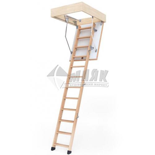 Сходи на горище BukWood Compact Standart люк 120×60 см 3 секції