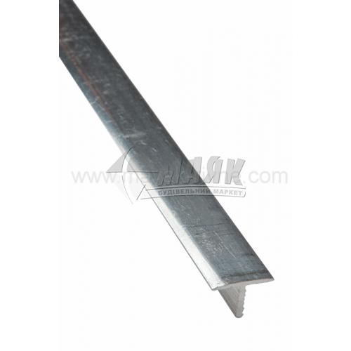 Профіль для плитки алюмінієвий TIS АТ13 2700 мм полірований