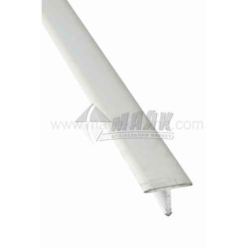 Профіль для плитки алюмінієвий TIS АТ13 2700 мм срібло матове