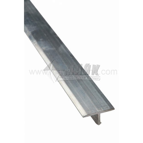 Профіль для плитки алюмінієвий TIS АТ18 2700 мм золото матове