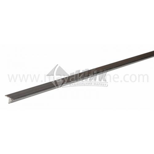 Профіль для плитки алюмінієвий TIS АТ18 2700 мм полірований