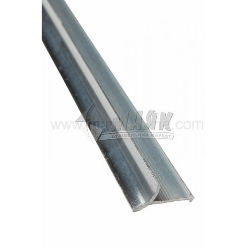 Профіль для плитки алюмінієвий TIS ВАП 2700 мм полірований