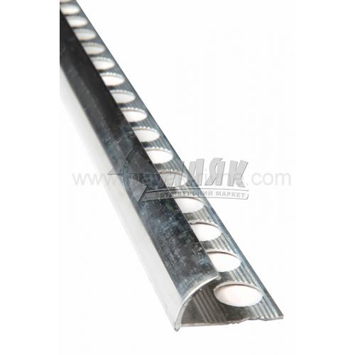 Профіль для плитки алюмінієвий TIS НАП12 2700 мм полірований