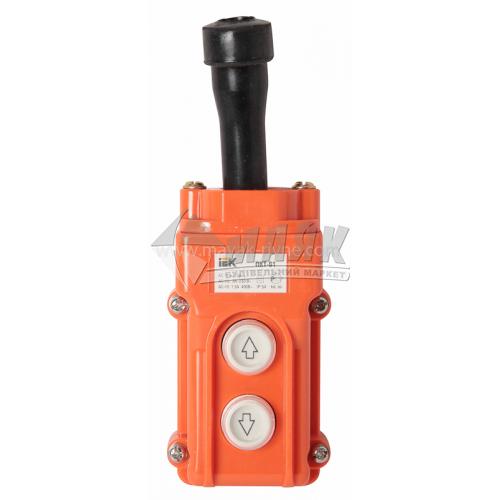 Пульт управління IEK ПКТ-61 IP54 2 кнопки