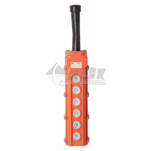 Пульт управління IEK ПКТ-63 IP54 6 кнопок