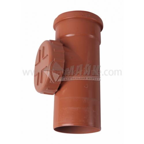 Ревізія ПВХ зовнішня каналізація Інсталпласт 110 мм
